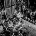 Antique Restoration in the back streets of Jew Town, Fort Kochi, Kerala