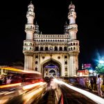 The Charminar, constructed in 1591, Hyderabad, Telangana